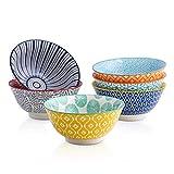 Selamica Porcelain 20oz Bowls Set - Set of 6, 6