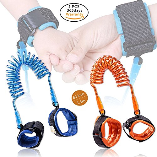 Harness Cuff (Yimai Toddler Anti-lost Wrist Link Baby Walking Safety Leash Cuff Child Harness Strap Rope Hand Belt for Kids (2 Pack))