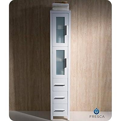 Fresca Torino Tall Bathroom Linen Side Cabinet