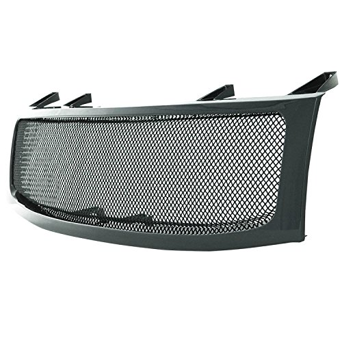 Nissan Wire Mesh Grilles (Paramount Restyling 44-0814 Packaged Grille with Chrome Black Steel 2.0 mm Wire Mesh)