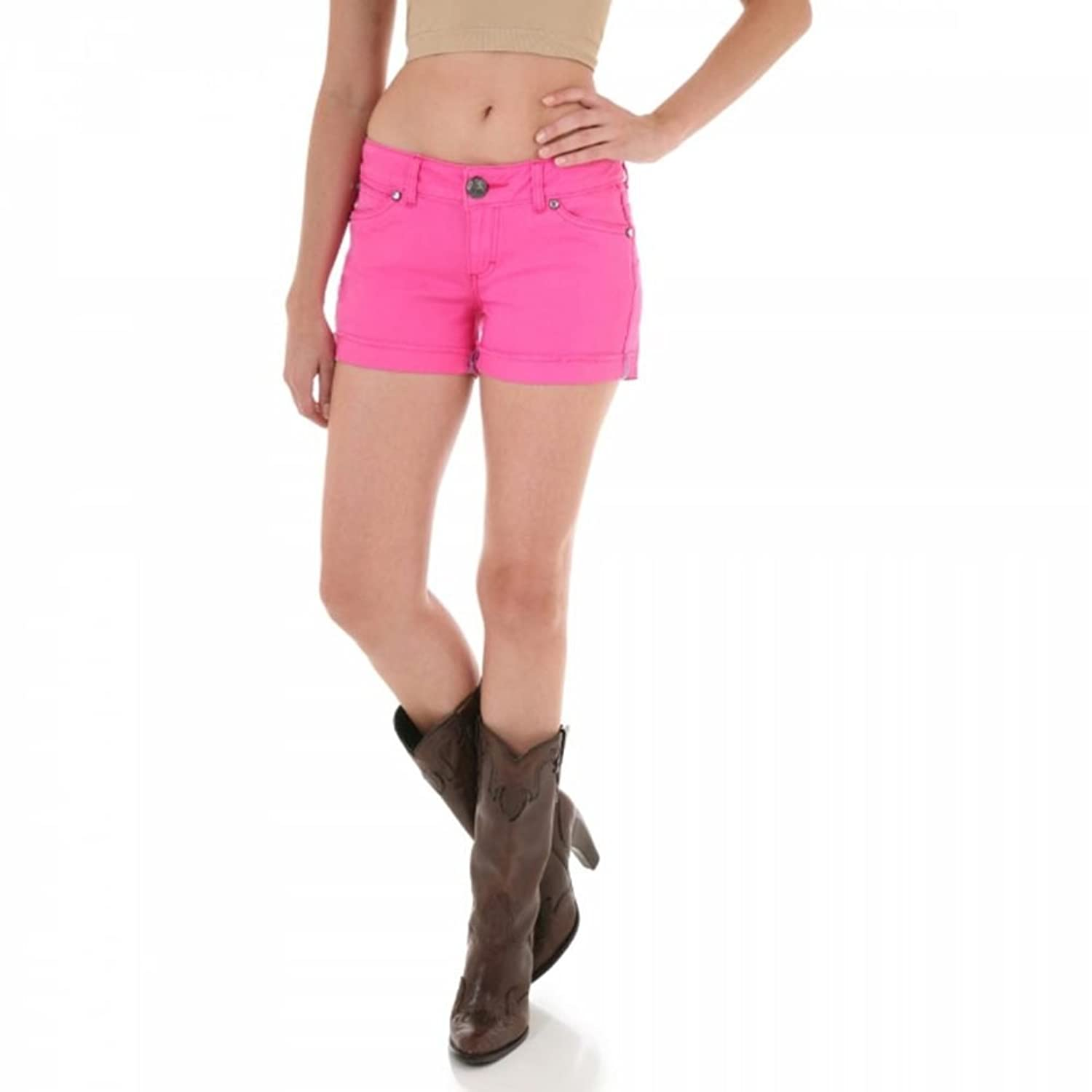 Wrangler Womens Booty Up Pink Shorts Size 0