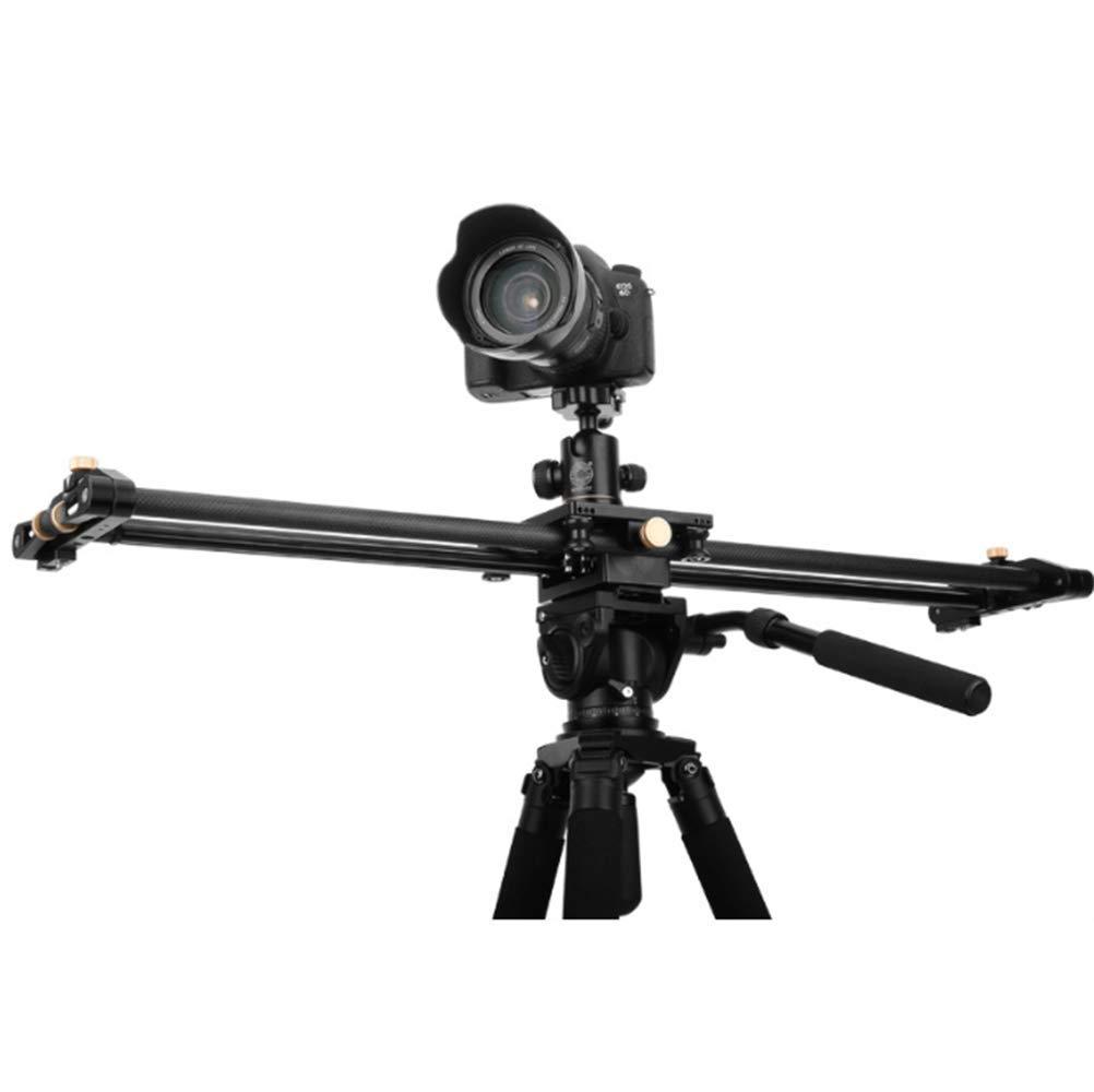 QH860C カメラスライダー ポータブル 手動 カーボンファイバー カメラ スライダー トラックベアリング ビデオ/映画/写真撮影用 安定化   B07MR2CCR1