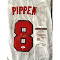 $486 » Scottie Pippen Autographed Signed Dream Team 8 Jersey (Size XL) with PSA/DNA COA