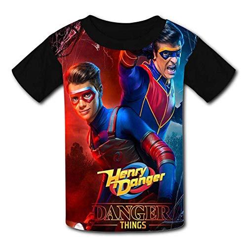 Danger TV Show of Henry Youth Tee Shirts 3D Print Kids T-Shirts Black