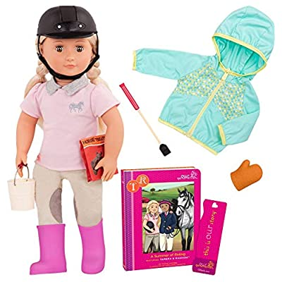 Our Generation Deluxe Horse Riding Doll - Tamera: Toys & Games