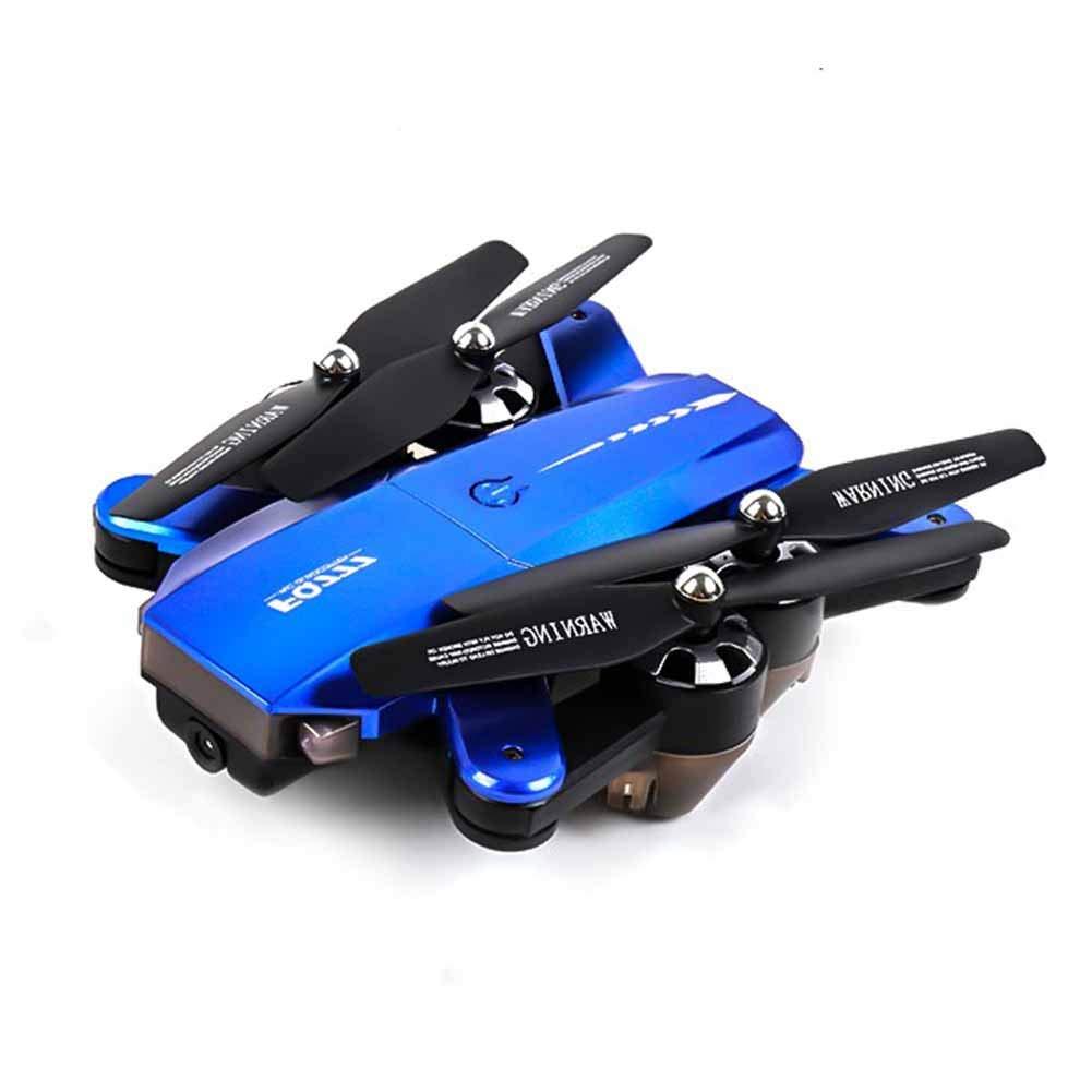 FTOPS Drone con cámara Video en Vivo, WiFi FPV Drone con cámara HD 720P - Altitud de retención, Modo sin Cabeza, Regreso con una tecla, Despegue/Aterrizaje con una tecla y Volteo 3D