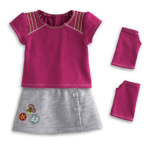 American Girl MYAG Fresh and Fun Outfit for Dolls Charm V6013-RF1A