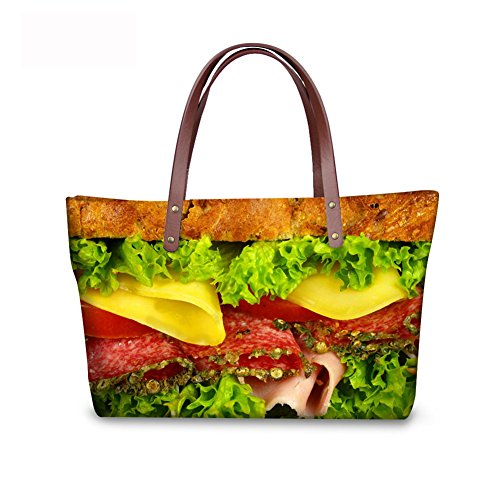 Print Fruit Tote Casual Bages FancyPrint C8wc0492al Handbags Women xB7n4g