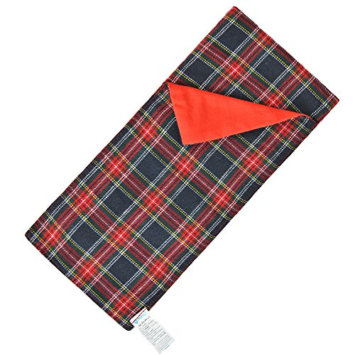 E-TING Sleeping Bag Christmas Accessory for Elf Doll (Doll is not Included) (Red-Blue Plaid)