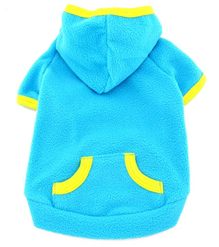 SMALLLEE LUCKY STORE Clothes Fleece Hoodie Jumper