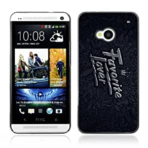 Designer Depo Hard Protection Case for HTC One M7 / Favorite Lover Art Painting