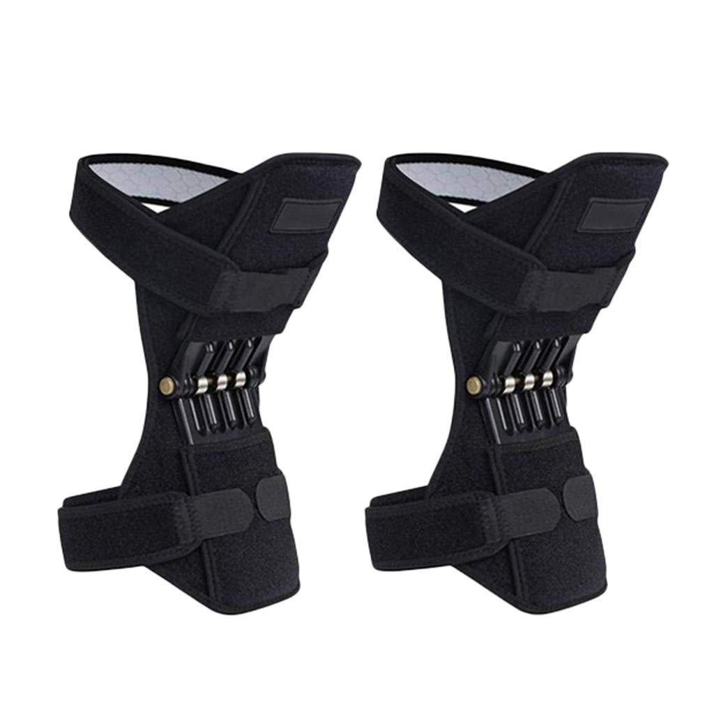 HiGOGO Joint Support Knee Pads, Powerful Rebound Spring Force, Knee Patella Power Lift Strap, Arthritis Gym Tendon Brace Pad Band (1Pair) by HiGOGO