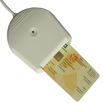 BLUTRONICS Lector de DNI-e DNI ELECTRÓNICO de Tarjetas Inteligentes USB BLUDRIVE II CCID
