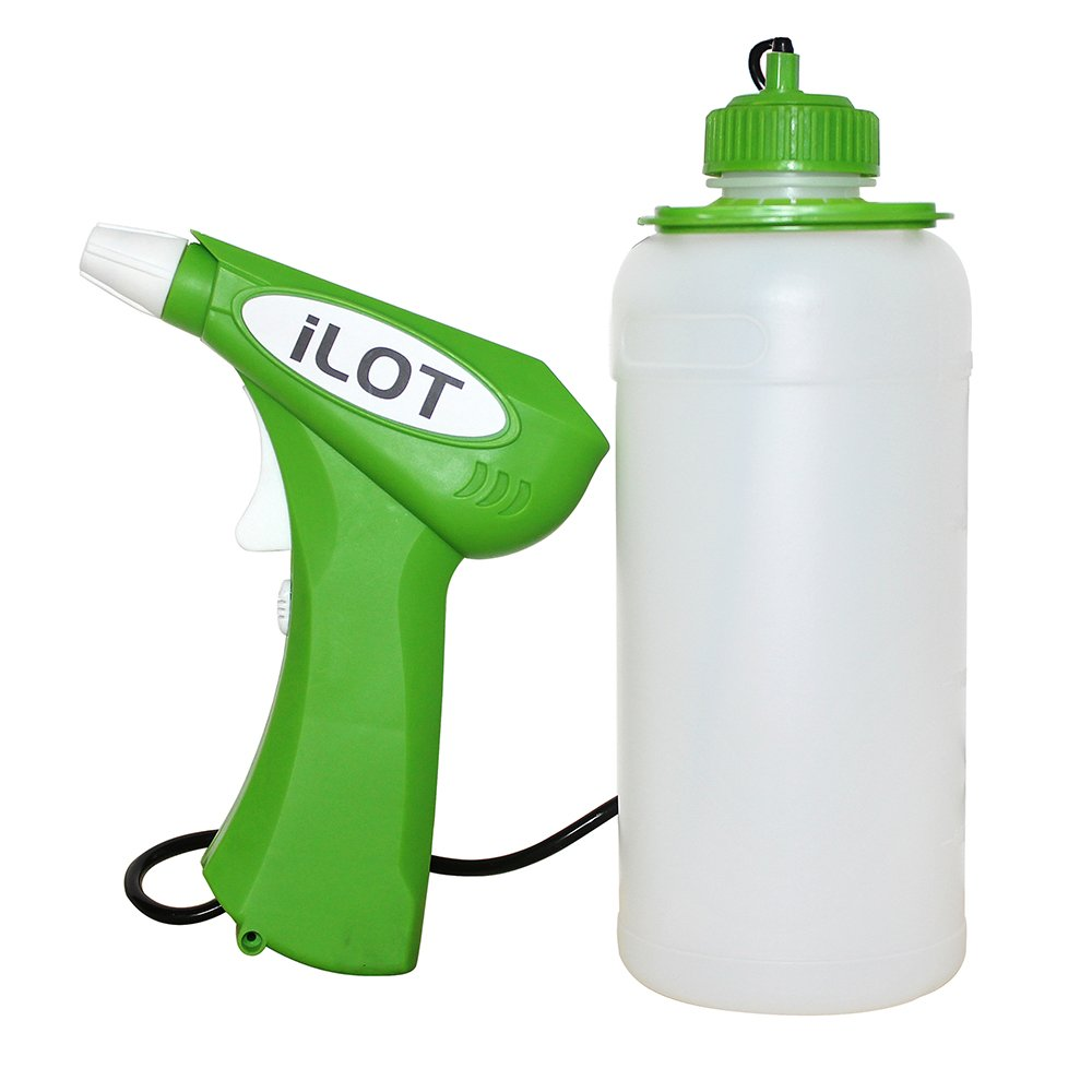 iLOT FET001 Battery-Operated Garden Sprayer with 32OZ Bottle-Spray Without Hand Fatigue Anymore by iLOT