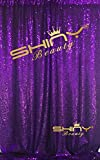 ShinyBeauty-Sequin-Curtain-Backrop-12FTx12FT-Purple, Glitz Photography Background, Fast Shipping!