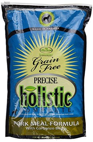 Precise Holistic Complete Canine Grain Free PorkandGarbonzo Bean Pet Food, 6 lb