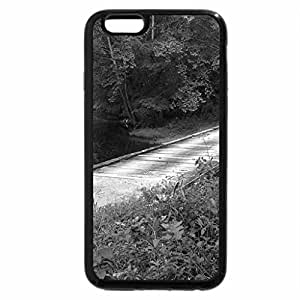 iPhone 6S Case, iPhone 6 Case (Black & White) - Little South Fork River