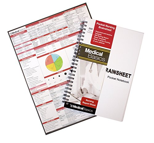 Pocket Nurse Report Sheet Notebook