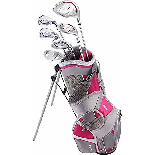 Top Flite Junior Girls Complete Golf Club Set Ages 9-12 or 53