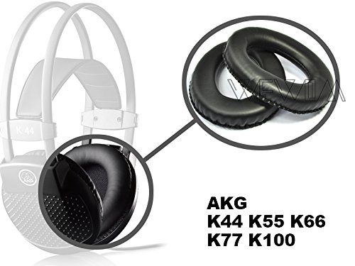 WEWOM 2 almohadillas de repuesto para cascos AKG K44 K55 K66 K77 K99: Amazon.es: Electrónica