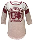Harry Potter Gryffindor Raglan Athletic Tee Shirt S