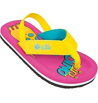 22a905e93f31d Cool Shoe Flip Flop Kids Mini Dino Girl Raspberry  Amazon.co.uk  Sports    Outdoors
