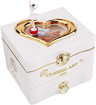 InnerSetting Caja de música para niñas, Caja de música clásica ...