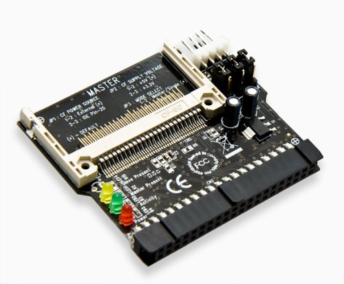 Syba IDE/PATA to CF Adapter Direct Insertion Connects Compact Flash to 2.5 3.5-Inch IDE Host Interface Hard Drive SD-CF-IDE-DI
