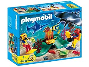 Playmobil Divers In Tropical Reef