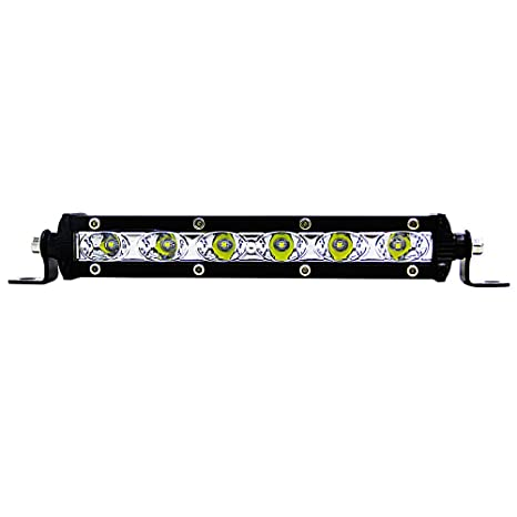 Luces LED largas para conducción de trabajo, luces antiniebla de carretera, impermeables, resistentes