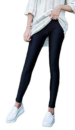 31bc5f6925e Lutratocro Women Plus Size Thickened Winter Slim Fit Fleece Pants Butt Lift  Legging Black XS
