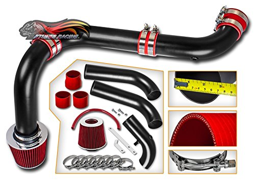Velocity Concepts FOR Dodge/Ram/1500/2500/3500/Pickup with 5.7L V8 Hemi Matte Black Cold Air Intake System + Filter