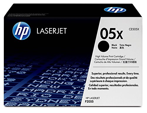 HP 05X (CE505X) Black High Yield Original Toner Cartridge by HP