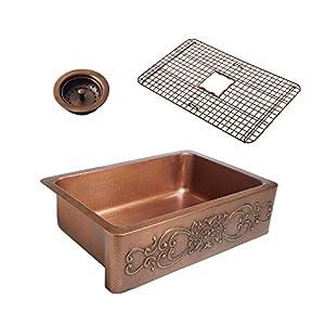 51fWBK4i4tL._SS300_ Copper Farmhouse Sinks & Copper Apron Sinks