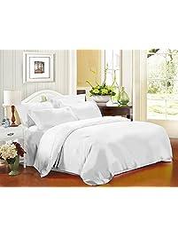 homfy 4 piece microfiber queen bed sheet - Queen Bed Sheets