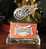 NHL Detroit Red Wings Business Card Holder in Gift Box