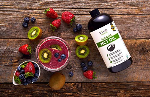 Top-Grade USDA Organic MCT Oil (32 fl oz) - Keto Friendly, Paleo Diet Certified, and Non-GMO Project Verified | Perfect in Coffee, Smoothies and Salads