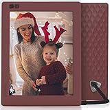 Photo : Nixplay Seed 8 inch WiFi Digital Photo Frame - Mulberry