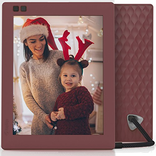 Nixplay Seed 8 inch WiFi Digital Photo Frame - Mulberry by nixplay (Image #5)