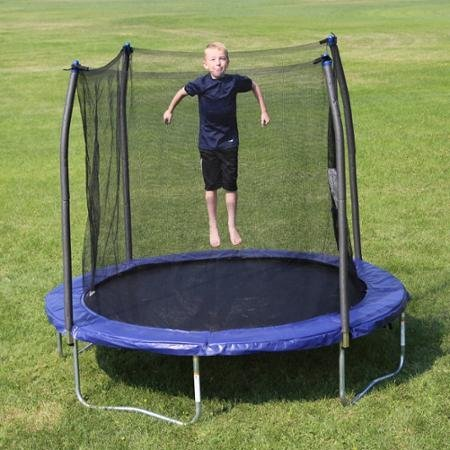 SkywalkerTrampolines-8-Round-Trampoline-with-Safety-Enclosure-Blue