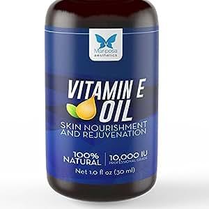 Vitamin E Oil, 100% Natural - Made in Canada