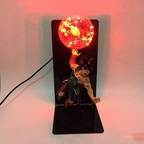 CXQ anime Dragon Ball Sun Wukong mano lámpara de mesa ...