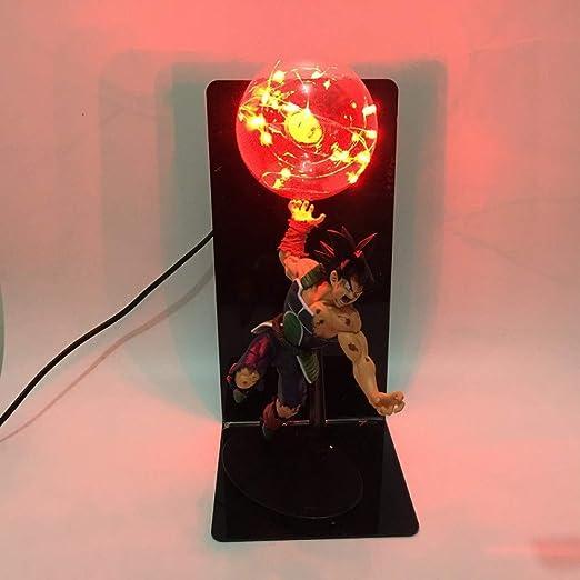 Dragon Ball Sun Wukong lámpara de mesa creativa hecha a mano ...