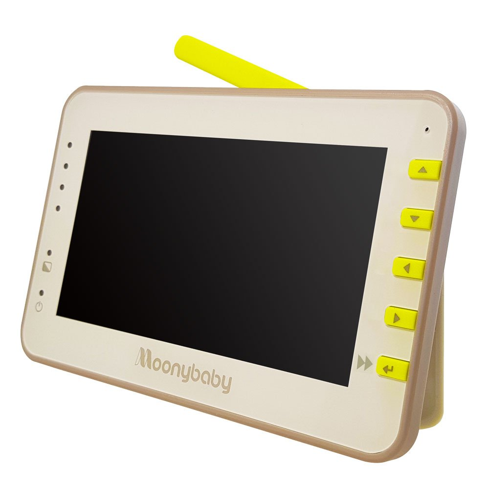 Moonybaby Replacement Monitor for MB55810 & MB55810-2T. 4.3 inches Split Screen Monitor Unit
