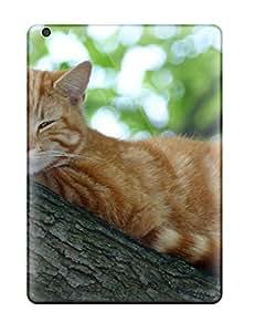 New Tpu Hard Case Premium Ipad Air Skin Case Cover(cat Lounging On A Tree) 3069039K71704759