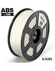 ABS 3D Printer Filament, Dimensional Accuracy +/- 0.02 mm, 1.75 mm,Eco-friendly Filament Suitable for 3D Printer/3D Print Pen