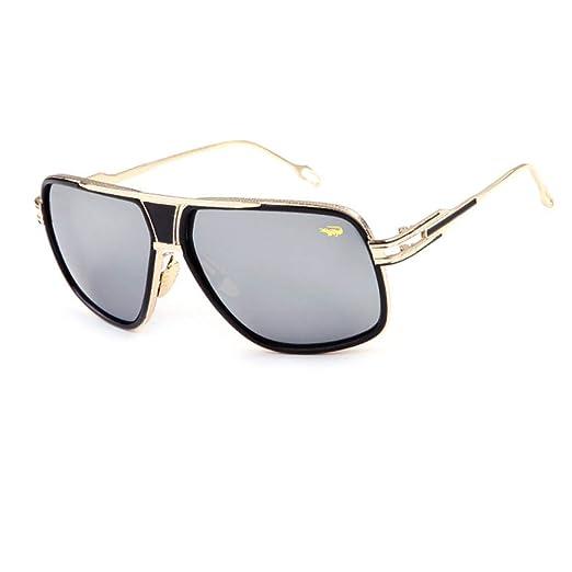 Yangjing-hl Hombres Mujeres Gafas de Sol EST Gafas de Montura ...