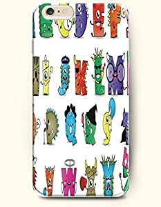 SevenArc Apple iPhone 6 Plus case 5.5 inches - All Hallows' Eve 26 Alphabets Costume Party In Halloween