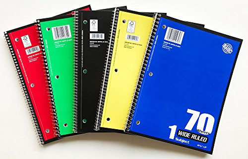 70 Page Notebook - 6