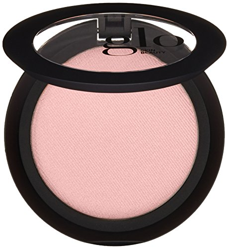(Glo Skin Beauty Powder Blush in Flowerchild - Matte Fresh Cool Pink | 9 Shades | Cruelty Free, Talc Free Mineral Makeup)